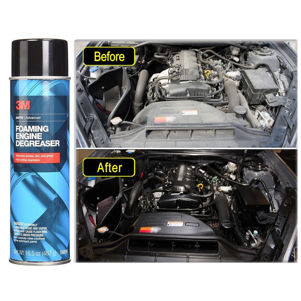 chai tẩy rửa động cơ ô tô 3M Mỹ