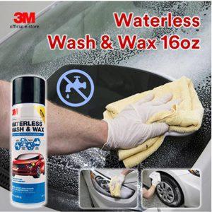 chai rửa xe khô 3M waterless